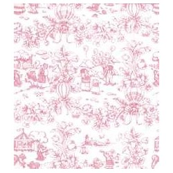 3 pack Wallpaper: Playland Toile Pink