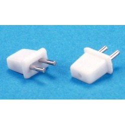 PETITE: WALL PLUGS WITHOUT WIRE, 4/PK