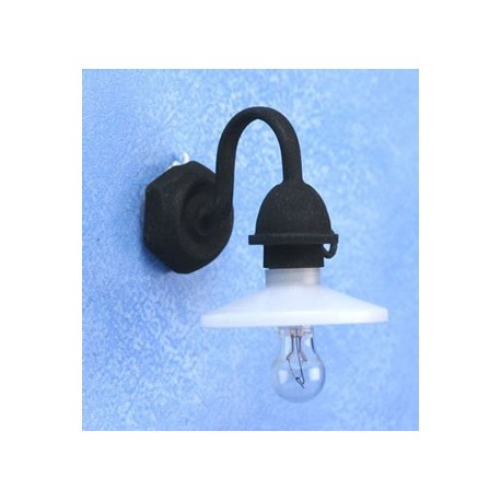 OUTDOOR SECURITY LIGHT 12V BIPIN PEA BLK