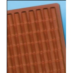 PVC ADOBE TILE ROOF, 10-3/4 X 16-3/4