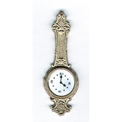 BANJO CLOCK-GOLD