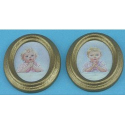 BEDTIME PRAYER/OVAL 2PC
