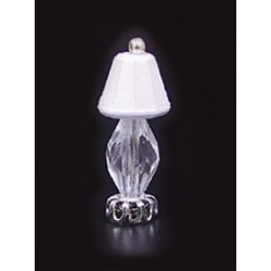 1/2 SCALE CRYSTAL TABLE LAMP