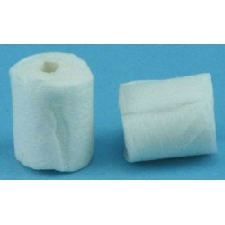 TOILET TISSUE WHITE 2 ROLLS