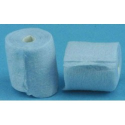 TOILET TISSUE BLUE 2 ROLLS