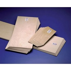 BIRCH PLYWOOD 1/4 X 6 X 12 6PK