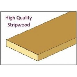 &CLA77187: STRIPWOOD, 1/16 X 1/4