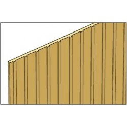 BOARD & BATTEN SIDING, 3/16 INCH