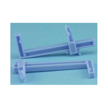 SMALL PLASTIC CLAMPS, CARDED, 2/PK