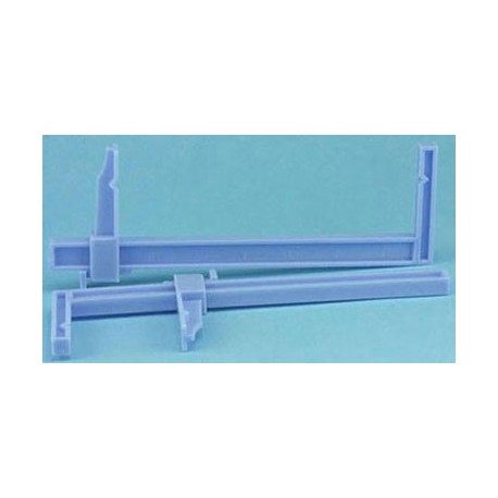 LARGE PLASTIC CLAMPS, CARDED, 2/PK
