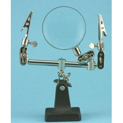 EXTRA HANDS WITH MAGNIFIER, CARDED