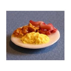 BREAKFAST PLATE, SCRAMBLED EGGS