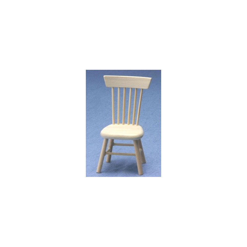 Chair unfinished dollhouse dining room chairs superior dollhouse miniatures - Dollhouse dining room furniture ...