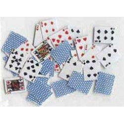 PLAYING CARDS, BLUE BACKS