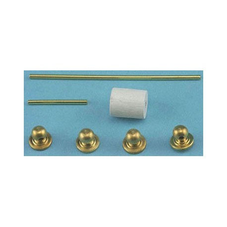 TOWEL BAR & TOILET PAPER HOLDER, 7/PC