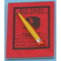 BIG CHIEF TABLET W/PENCIL