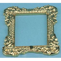 &CLA00162: GOLD TONE PICTURE FRAME