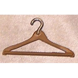 COAT HANGER, WOOD LIKE