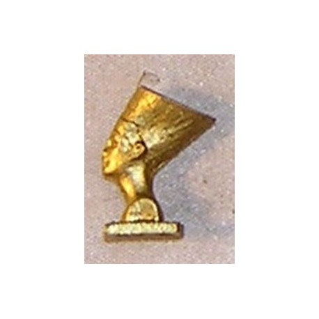 EGYPTIAN STATUE, GOLD COLOR