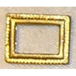 MATCHBOX, RECT PICTURE FRAME, GOLD COLOR