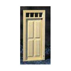 1/2 SCALE:4 PANEL PREHUNG DOOR