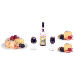CHEESE & FRUITS W/WINE FOR TWO