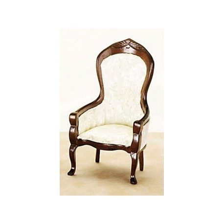 VICT. GENTS CHAIR, WALNUT