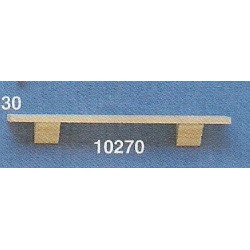 PLATE RAIL SHELF, 4-1/2 IN