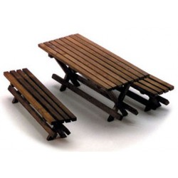 Picnic Table W/2 Benches/Cb