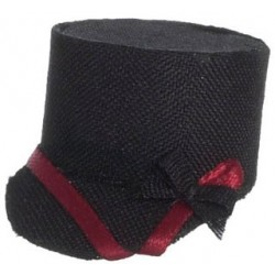 Hat, Black & Red, Jockey