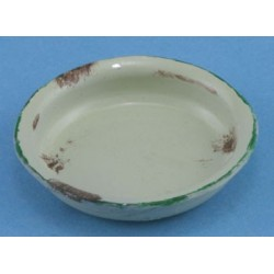 Bowl, Medium, Round, Beige