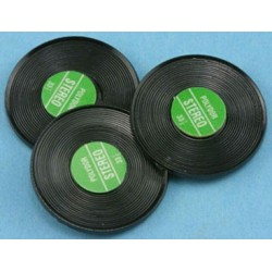 Phono Records/3pk, Assorted Colors