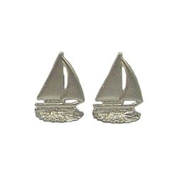Sailboat Bookends Gold