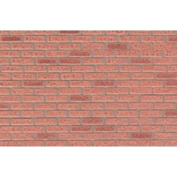 Georgian Brown Rough Brick 14Inx24In Mfi