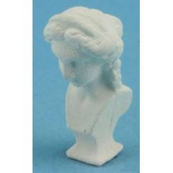 White Bust Of Lady