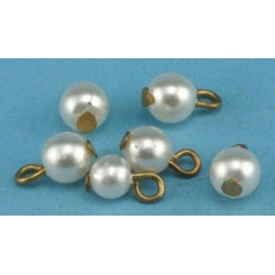 Pearl Ornaments 6Pcs.