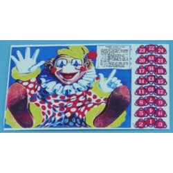Pin The Nose On The Clown Game