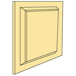 Wainscot Panel, 1/Sht