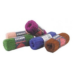 Skeins Of Yarn Assorted W/5 Skeins