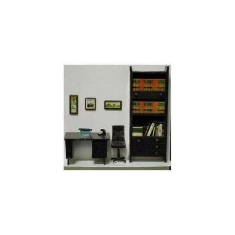 office furniture 1 48 7pc dollhouse 1 4 miniatures