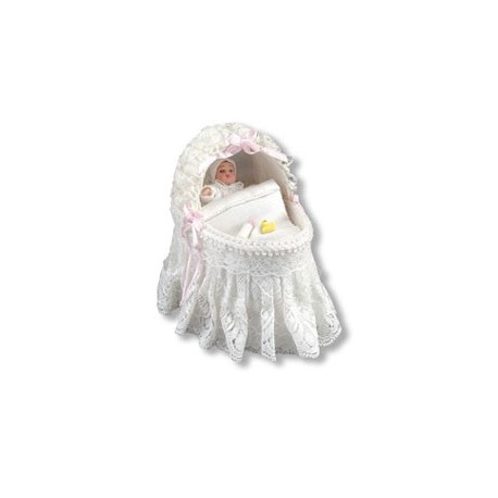 Lace Baby Cradle