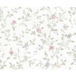 3 pack Wallpaper Rose Lilac Flwrs W Ivy