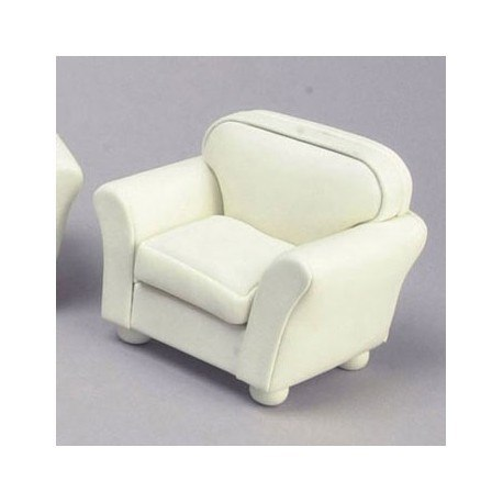 Club Chair Cream Leather Cb