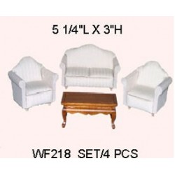 Living Room Set 4Pcs