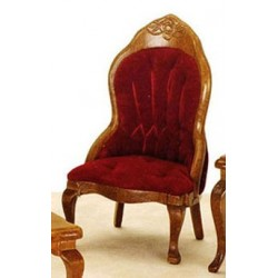 Vict Ladies Chair Burg