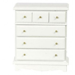 Chest Of Drawers White Cb