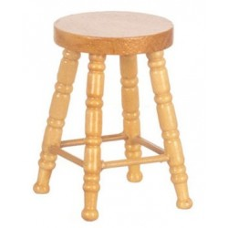 Wooden Stool Oak