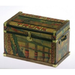 Lithograph Wooden Trunk Kit Bliss Travel