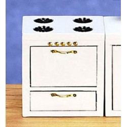 Kitchen Stove White Cb