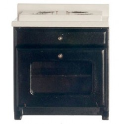 Kitchen Stove Black